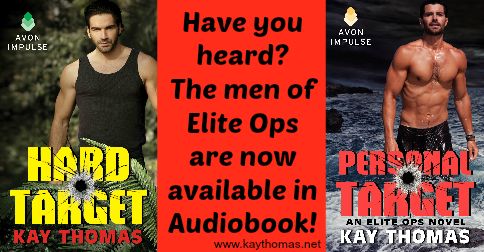Narrated by acclaimed actor P.J. Ochlan, the first two books in the Elite Ops series can be downloaded through Audible.com or purchased as a CD on Amazon.