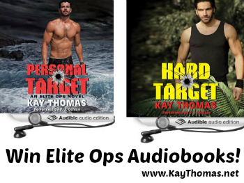 Win Elite Ops Audiobooks at www.kaythomas.net  Contest ends 3/23/15