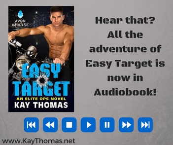 Hear that-All the adventure of Easy Target is now in Audiobook!